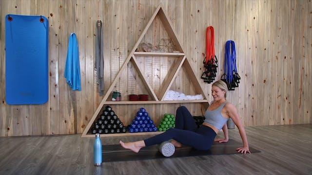 Foam Rolling Stretches with Michele