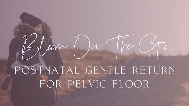 Postnatal Gentle Return for Pelvic Floor (On The Go)
