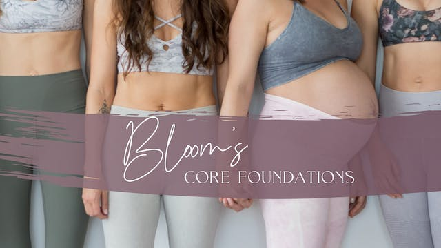 Bloom's Core Foundations