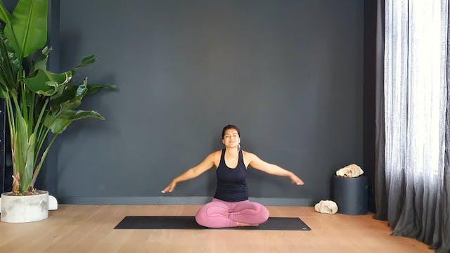 Vinyasa Flow w/ Fi breathwork and juicy core activation   35 minutes