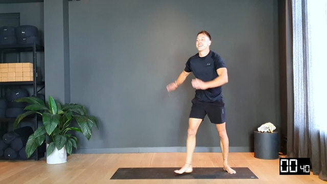 7 minute workout w/Thomas (full body + cardio)