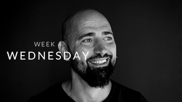 Week 4 | Wednesday | Legs | Luca