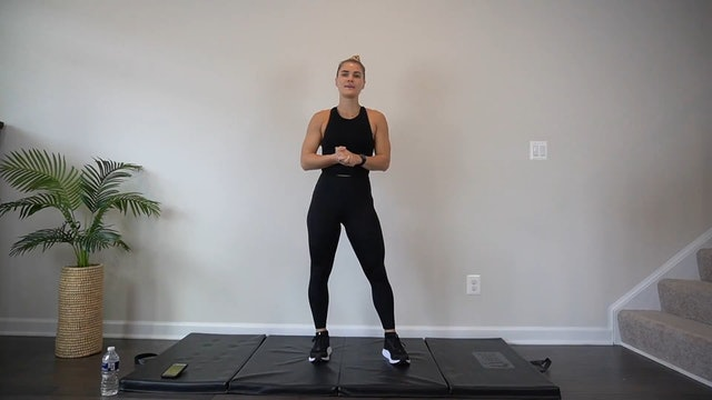 HIIT w/ Casey for a body-weight burn | 25 minutes
