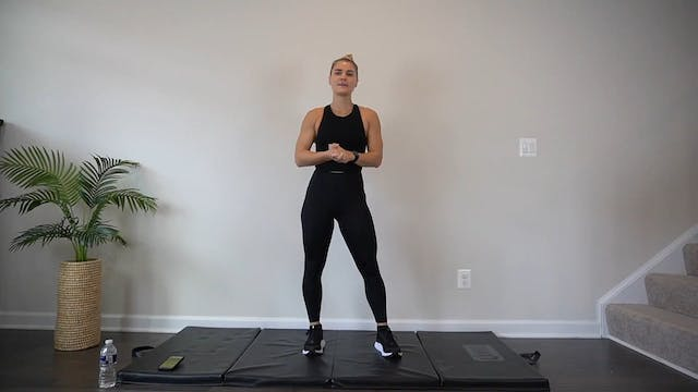 HIIT w/ Casey for a body-weight burn ...