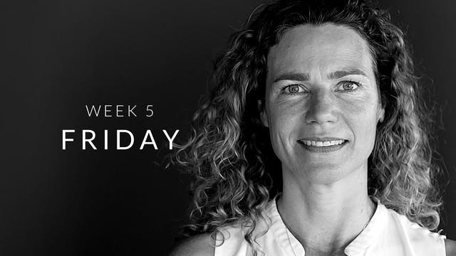 Week 5 | Friday | Full Body | Judith
