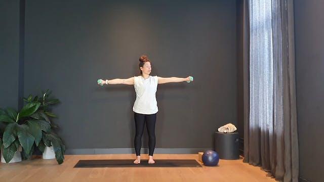 Week 3 Pilates w/ Rachel for the full body