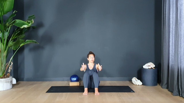 Pilates w/ Rachel to tone and release | 35 minutes