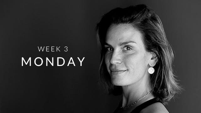 Week 3 | Monday | Core | Philine