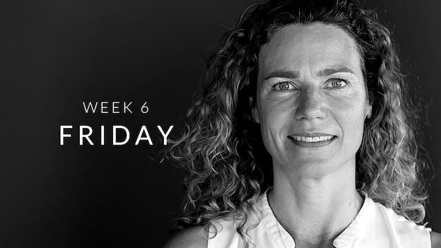 Week 6 | Friday | Full Body | Judith