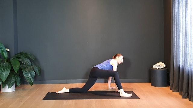 Prenatal quickie w/ Pamela to create space | 10 minutes