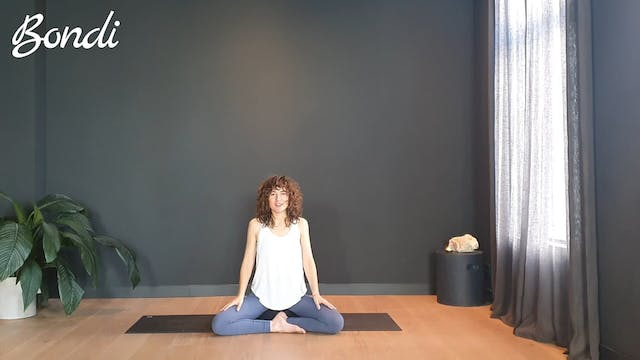 Breath work w/ Roos for new energy   3 minutes