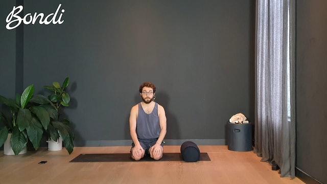 Yin Flow w/ Joe for restorative relaxation | 20 minutes