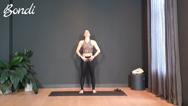 Week 1 Pilates w/ Rachel for the arms and legs