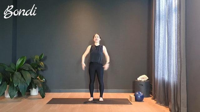 Pilates w/ Rachel for length and core training | 30 minutes