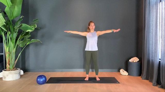 Pilates w/ Rachel to sculpt and tone | 35 minutes