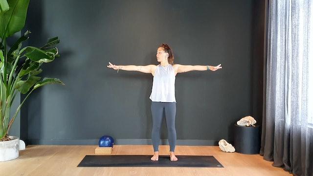 Pilates w/ Rachel toning the full body | 35 minutes