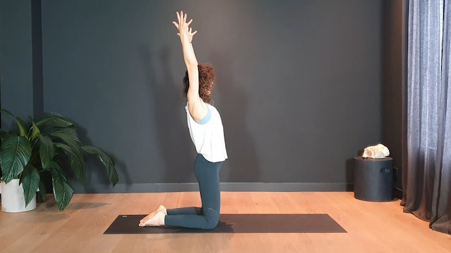 Vinyasa w/ Roos for an easy flow   30 minutes