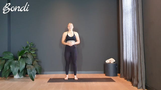 Week 2 Vinyasa flow w/ Ashley for the full body