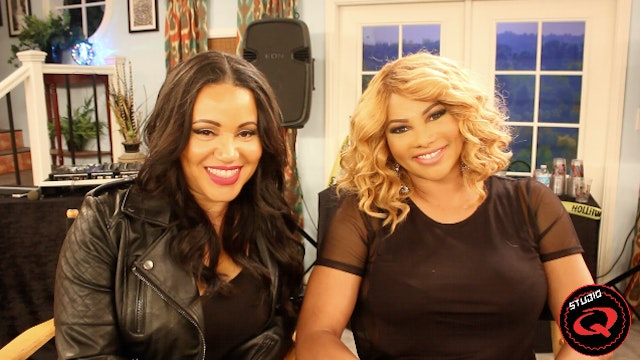 Salt N Pepa and The Cast of 'Family Time'