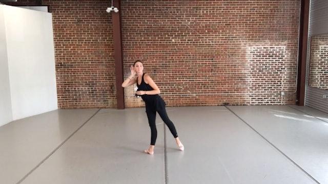 Ballet Flower Prop Dance