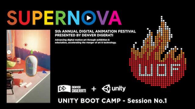Intro to Unity Bootcamp - No.1