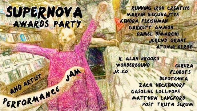 Supernova 2020 Awards Party and Artis...