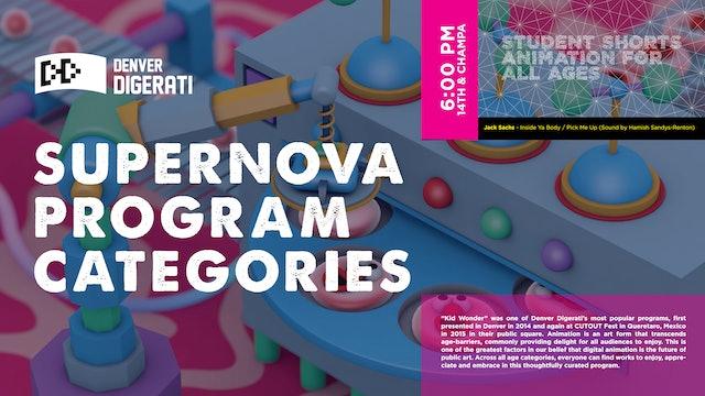 Supernova Program Categories