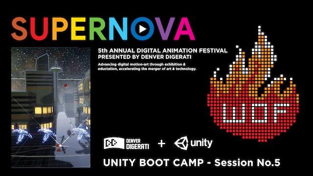 Unity Bootcamp No.5