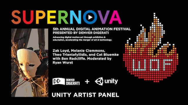 Unity Artist Panel