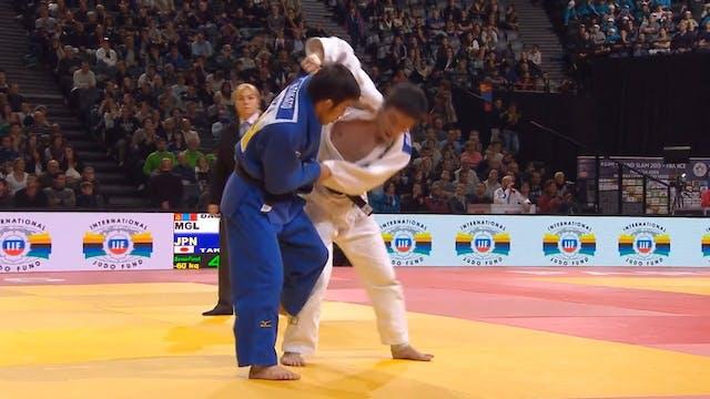 101: Ashi guruma - MGL v JPN -60kg