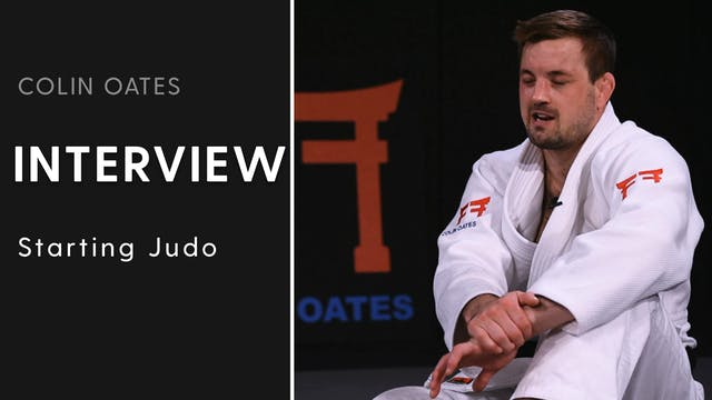 Starting Judo | Interview | Colin Oates