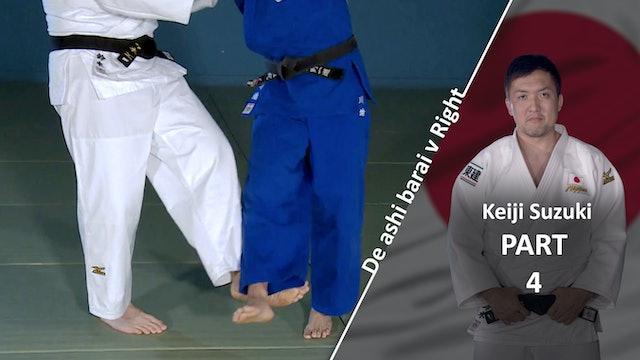 Breaking Balance VS Right | De Ashi Barai | Keiji Suzuki