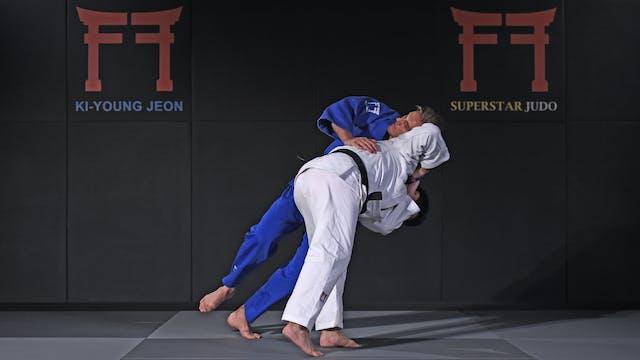 Korean reverse Seoi nage | Korean Judo