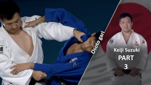 Upper Body | Osoto Gari | Keiji Suzuki