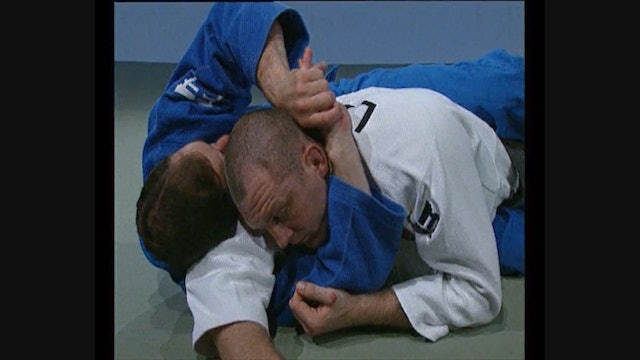 Neil Adams - Arm San gaku jime - Positioning the arm