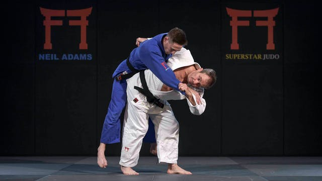 -57kg Rafaela Silva's (BRA) Uke goshi...