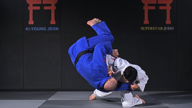 Drop knee Tai otoshi | Korean Judo