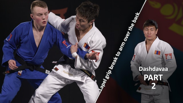Lapel grip break - Entry vs left | Dashdavaa