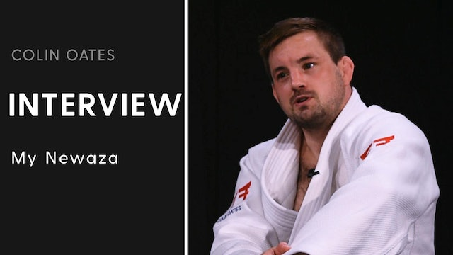 My Ne Waza | Interview | Colin Oates
