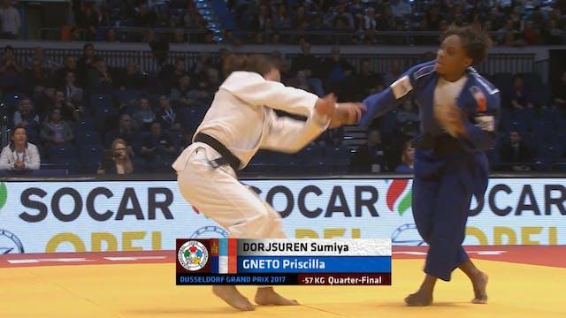 101: Osoto gaeshi - MGL v FRA -57kg