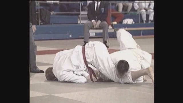 Neil Adams - Juji gatame - Facedown