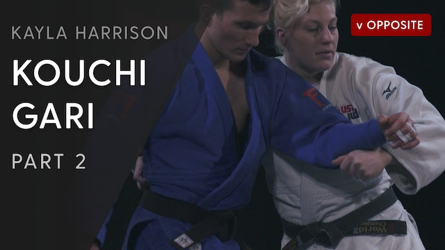 Kouchi gari vs Opposite - Step by Step | Kayla Harrison