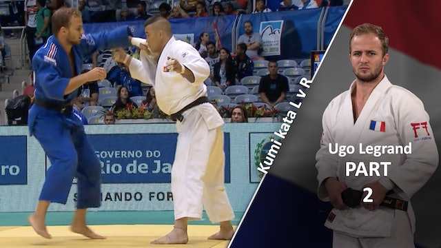Kumi kata - Controlling the lapel, lapel movement vs opposite  | Ugo Legrand