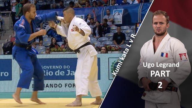 Kumi kata - Controlling the lapel, la...