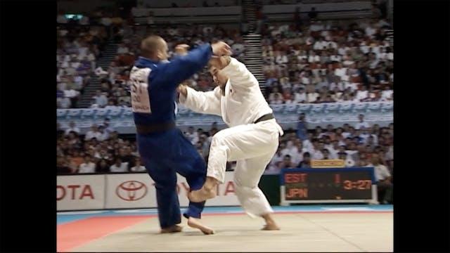 One handed - 2003 Worlds | Keiji Suzuki