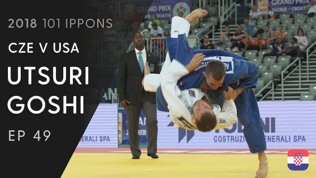 101: Utsuri goshi - CZE v USA -60kg