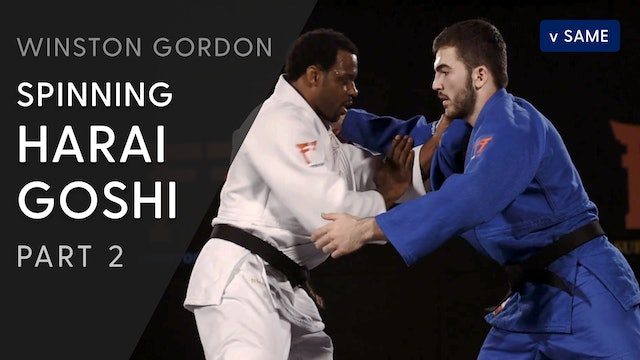 Spinning Harai goshi - Set-up | Winston Gordon