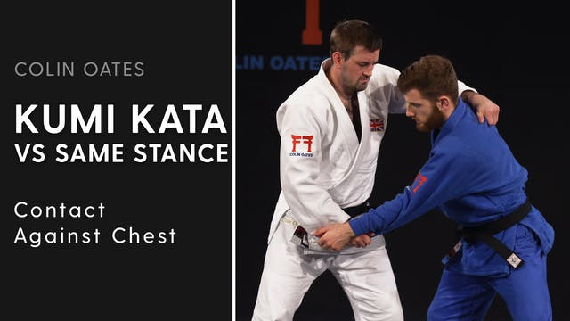 Contact Against Chest | Kumi Kata VS ...