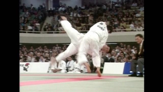Kosei Inoue - Ouchi gari against +100kg opponents