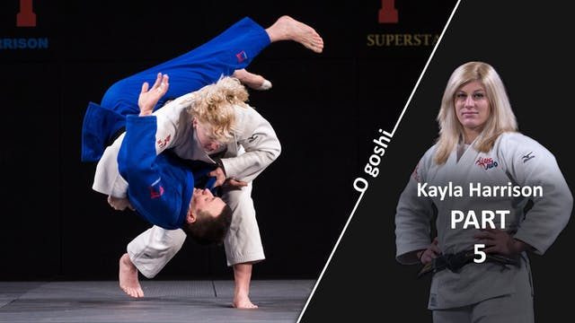 O Goshi vs extreme left | Kayla Harrison